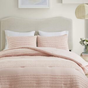Comfort Spaces Phillips Comforter Reversible 100% Cotton Face